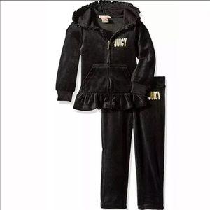 Juicy Couture Velour 2-Pieces Track / Sweat Suit